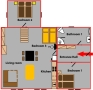Galko Pension - Apartment 1 Floor plan