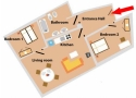 Zamecka Apartma - Apartment 5 Floor plan