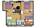 Prague Apartment Wenceslas Square - 703 pok 2 Floor plan