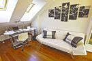 Top Apartments Prague - Olivova Attic Living room