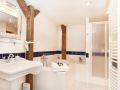 Top Apartments Prague - Hastalska Attic Bathroom